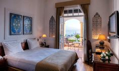 El Minzah Hotel à Tanger (Centre-ville) : Réservez moins cher sur Prestigia.com