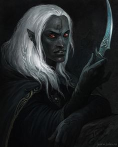 Drow by CG-Warrior.deviantart.com on @deviantART