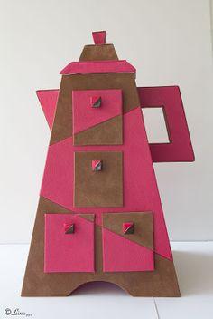 L'atelier de Leina: Ma tisanière en carton