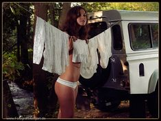 Hm... I feel like going camping!  (Land Rover Defender Calendar Outtakes by Hochzeitsfotograf Stuttgart).