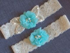 A personal favorite from my Etsy shop https://www.etsy.com/listing/257330150/color-choice-wedding-garter-set-lace