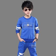 Sport Clothes Children Spring 2-pc Clothes Set Kids – Trending Accessories Sport Outfits, Kids Outfits, Cocktail Wear, Baby Dress Patterns, Cheap Clothes Online, Outfit Sets, Cute Kids, Winter Jackets, Graphic Sweatshirt