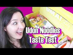Japanese Ramen Noodles Taste Test- Umai Crate Subscription Box - YouTube