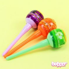 Lollipop Highlighters...I want these cute highlighters