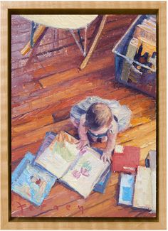 Would love a playroom painting like this