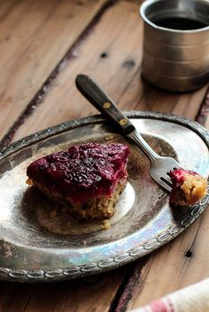 Cranberry Upside Down Cake - Perfect for Thanksgiving
