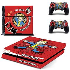 Fallout 4Designer Skin for Sony PlayStation 4 Console System plus Two2 Decals for PS4 Dualshock Controller -- Check this awesome product by going to the link at the image.Note:It is affiliate link to Amazon.