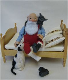 12th Scale Doll ~ Father Christmas | Flickr - Photo Sharing!
