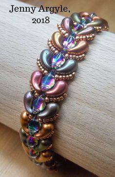 beaded bracelet patterns for beginners Beaded Braclets, Beaded Bracelets Tutorial, Beaded Bracelet Patterns, Seed Bead Bracelets, Bracelet Designs, Beaded Earrings, Bead Jewellery, Making Ideas, Jewelry Design
