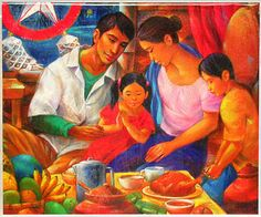 Noche Buena. This is the peak of the Christmas in the Philippines.On the eve of Christmas, the family will gather together at the table to enjoy a feast.