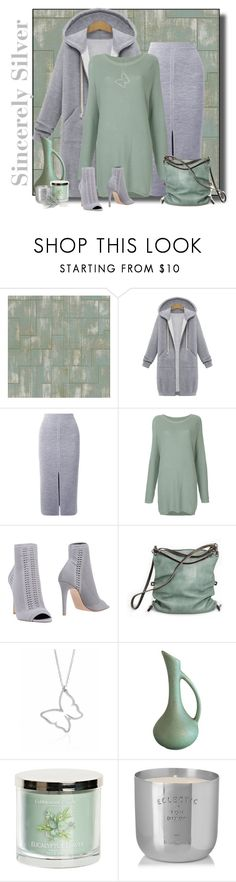 """""""SincerelySilver Contest #sincerelysilver"""" by lorrainekeenan ❤ liked on Polyvore featuring Élitis, Gabriela Hearst, Zambesi, Gianvito Rossi, Ina Kent, Tom Dixon and plus size clothing"""
