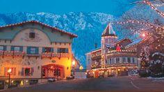 Bavarian style Christmas ... Leavenworth, Washington
