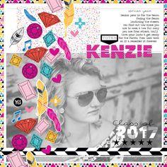 """Bella Blvd's Addison Digital Collection - """"Kenzie"""" Layout by Megan Klauer"""