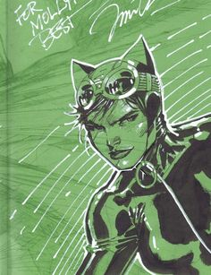 Catwoman by Jim Lee