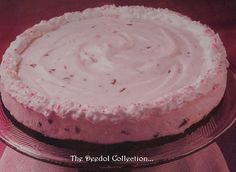 Peppermint Cheesecake.... https://grannysfavorites.wordpress.com/2015/09/05/peppermint-cheesecake/