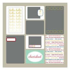 Game Day Photobook Template - Digital Download by Stampin\' Up! | DIY ...