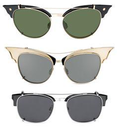 DSQUARED2 acaba de presentar las Cool Cats at the Beach: Esther, Bettie y James. Sus nuevos modelos eyewear para primavera verano 2014. Próximamente en Óptica Capitol