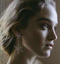 Jennifer Behr Estee Earrings  | celestial earrings | celestial jewelry | bridal accessories |