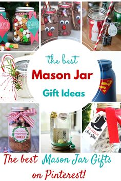 Mason jar gifts are all over right now. They are so adorable and the possibilities are limitless with those little clear guys. From recipes to crafts to wrapping ideas for gift cards, people are going crazy over them!