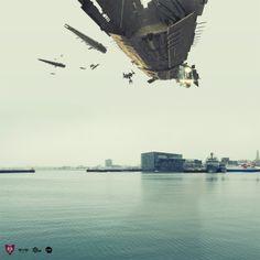 Reykjavik Invasion Vol. 3 - Eve-Online by Sig Vicious, via Behance