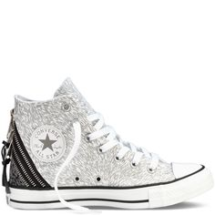#converse Chuck Taylor Metallic Tri Zip