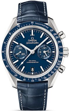 Buy Omega Speedmaster Moonwatch Co-Axial Chronograph mm Stainless Steel Caliber 9300 Watches, authentic at discount prices. Complete selection of Luxury Brands. All current Omega styles available. Omega Speedmaster Moonwatch, Omega Seamaster, Swiss Luxury Watches, Luxury Watches For Men, Men's Watches, Cool Watches, Wrist Watches, Omega Co Axial, Casio Protrek