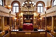 Sandys Row Synagogue    4 Sandys Row, E1 7HW, London, England  A hidden gem at the very heart of London. Built originally as a Huguenot chapel 1763, this extraordinary building has been in continuous use as a synagogue since 1860. The last functioning synagogue in Spitalfields.    Opening Days/Times  Sunday	 10am-5pm    Last Entry Time  Last entry 4.45pm.