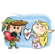 Link Zelda | flash