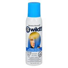 Jerome Russell B Wild Temp'ry Hair Color Spray Blue