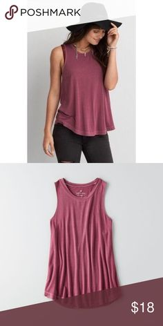 NWT American eagle drapey tank Brand new With tags American eagle drapey tank size M. American Eagle Outfitters Tops Tank Tops