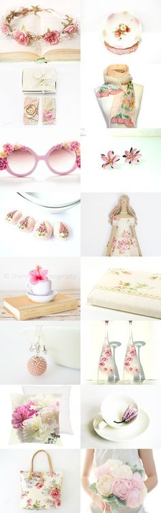 Stunning treasury! May Flowers by Ibolya on Etsy--Pinned+with+TreasuryPin.com