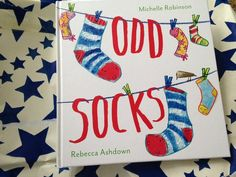 Odd Socks out 7th January 2016! By Michelle Robinson, illustrated by Rebecca Ashdown, from @andersenpress