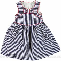 Love the manipulated stripes and the piping