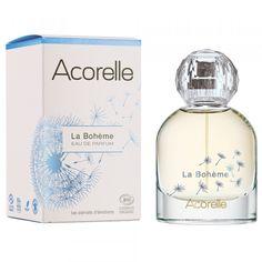 Eau de Parfum La Bohème Bio & Vegan Acorelle Parfum Bio, Fragrance Parfum, Deodorant, Mademoiselle Bio, Perfume Bottles, 25 Mai, Vegan, June 8, Pageants