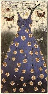 """Kirsi Neuvonen: """"Kesäpuku (Summer Dress)"""", 1993 (line etching, aquatint, copy etching) Finnish Women, Dress Painting, Painter Artist, Conceptual Art, Art Studios, Figurative Art, Mixed Media Art, Graphic Art, Graphic Design"""