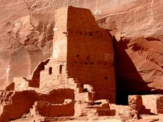 Anasazi ancient home in canyons