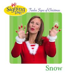 What's the ASL sign for Snow? Sign Language Book, American Sign Language, Toddler School, Toddler Age, Holiday Signs, Christmas Signs, Asl Signs, The Nativity Story, Red Sign