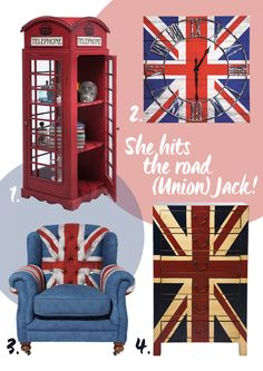 Union Jack Britain Britisch by KARE Design #KARE #KAREDesign #Union #Jack #UK