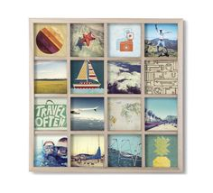 A simple grid frame to display your most meaningful moments. | 28 Cheap Things To Treat Yourself To Right Now
