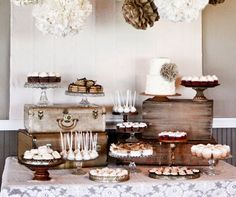 Dessert Tables, Wedding Dessert, Cupcakes, Wedding Cake, Cookies, Macarons || Colin Cowie Weddings