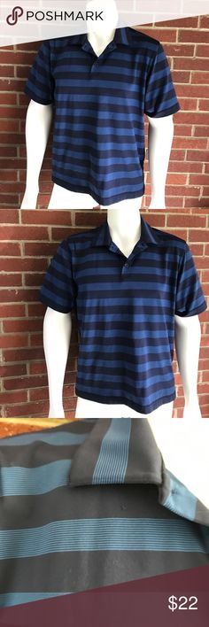 Under Armour heat gear SS Polyester striped polo Please see photos for all measure! Minor pull near collar refer to photos. Sorry I do not model/trade!! This item comes from a smoke free, pet friendly home!! No rips, holes or stains to note!! I ship Monday-Friday to ensure quick delivery (orders placed after 7am will not be processed until the following day). Orders placed Saturday/Sunday will not be processed until Monday morning :)! Thanks for shopping my closet!! Under Armour Shirts Polos