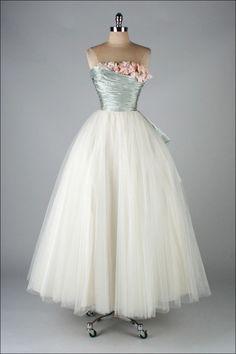 Dress Ceil Chapman, 1950s Mill Street Vintage