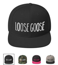 Loose Goose Snapbacks now available in the apparel section of www.birdejuice.com!  Honk honk! Juice, Bird, Gallery, Crafts, Instagram, Manualidades, Juice Fast, Birds, Juicing