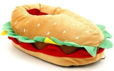 Cheeseburger Slippers Are Slip-On Sandwiches - Foodista.com