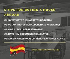 5 tips for buying a house abroad ---------------------------- 5 tips membeli rumah di luar negeri  Find out more about how to invest in Spanish property by contacting us at www.propertispanyol.com contact@propertispanyol.com  #Indonesia #Spain #properti #investment #goldenvisa #business #paradise #realestate #investasi #eu #home #properties #house #apartment #placetolive #rumah #travel #spanyol #propertispanyol #bisnis #rumahimpian #dreamhome #eropa #jakarta #singapore #hk #lux #luxury