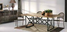 Decorar con mesas de estilo industrial - http://www.decoora.com/decorar-con-mesas-de-estilo-industrial/
