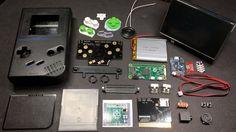 Game Boy Zero Custom Parts Guide
