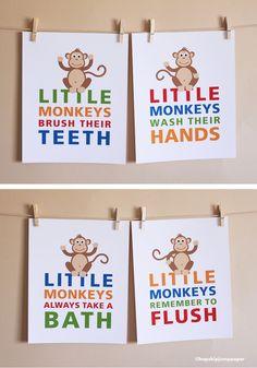 Little monkeys... (someday for the kiddies!)