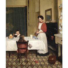 Denys George Wells 1881-1973 NURSERY TEA