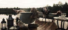 Südnorwegen ■ Luxus-Camping im Canvas Hotel in Nissedal, Telemark- Foto: Colin Eick